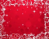Luxury grunge winter floral frame. Illustration luxury grunge winter floral frame - vector stock illustration