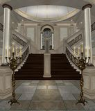 Luxury hall 1 Royalty Free Stock Photo