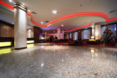 Luxury hall of Hotel Royalty Free Stock Images