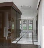 Luxury hall interior Stock Photos
