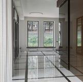 Luxury hall interior Stock Photo