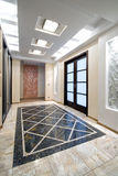 Luxury hall in a new apartment Royalty Free Stock Photography