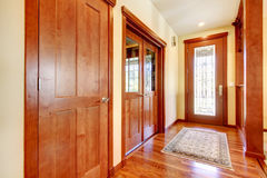 Luxury hallway and house entrance. Stock Photos