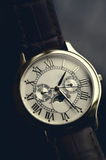 Luxury hand watch Stock Images