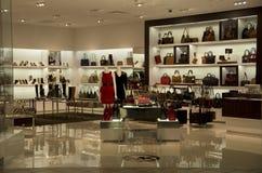 Luxury handbag purse fashion store Stock Photography