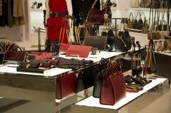Luxury handbag purse fashion store Royalty Free Stock Photo
