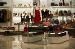 Luxury handbag purse store Royalty Free Stock Photos