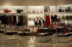 Luxury handbag purse store Stock Photo