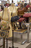 Luxury handbags store Royalty Free Stock Photography