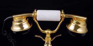 Luxury handset Royalty Free Stock Image