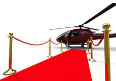 Luxury helicopter Royalty Free Stock Photos
