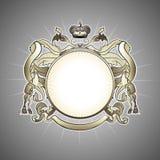 Luxury  heraldic frame Royalty Free Stock Photo