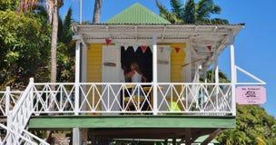 The luxury Hermitage Plantation Inn in the Caribbean island of Nevis Stock Photo