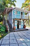 The luxury Hermitage Plantation Inn in the Caribbean island of Nevis Royalty Free Stock Photo