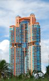 Luxury hi rise condominium Royalty Free Stock Photography