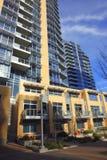 Luxury high rises, Portland Oregon. Stock Photos