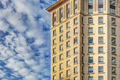 Luxury high vintage building Royalty Free Stock Photos