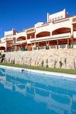 Luxury Holiday Or Vacation Apartments On Urbanisation Royalty Free Stock Image