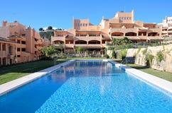 Luxury Holiday Or Vacation Apartments On Urbanisation Stock Photo