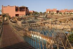 Luxury holiday resort - Egypt Stock Image
