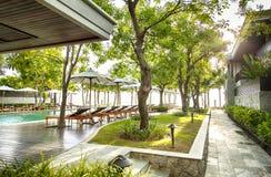 Luxury holiday resort Royalty Free Stock Image