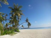 Maldives beach impression - postcard style Royalty Free Stock Photography