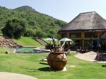 Luxury holiday villas Royalty Free Stock Photos