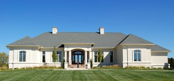 Luxury home Royalty Free Stock Photography