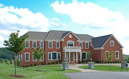 Luxury Home 17. Large luxury home in a residential development Stock Photos
