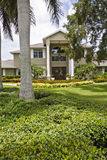 Luxury home. Luxurious home with large front yard Stock Image