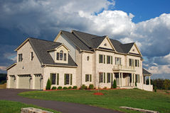 Luxury Home 22. Large luxury home in a residential development Stock Image
