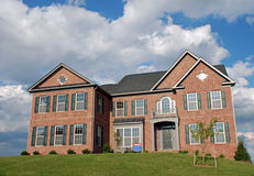 Luxury Home. Large luxury home in a residential development Royalty Free Stock Photo