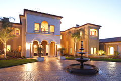 Luxury Home Stock Image