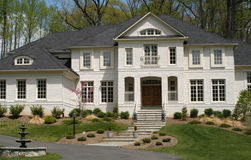 Luxury Home. Luxury suburban house Royalty Free Stock Photography