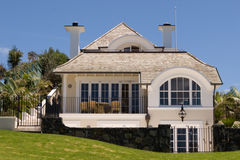 Luxury Home. A luxury home in Auckland royalty free stock photography