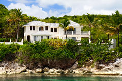 Luxury home on Antigua Stock Photography