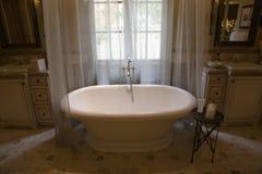 Luxury home bathroom. royalty free stock photo