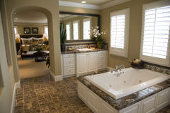 Luxury home bathroom Royalty Free Stock Photos