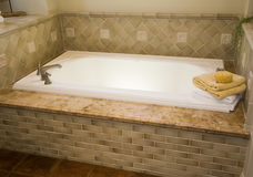 Luxury home bathroom Royalty Free Stock Photography