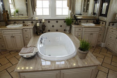 Luxury home bathroom Royalty Free Stock Photo