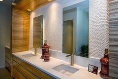 Luxury Home Bathroom Royalty Free Stock Image
