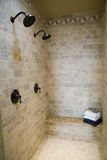 Luxury home bathroom shower royalty free stock images