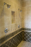 Luxury home bathroom shower Royalty Free Stock Photography