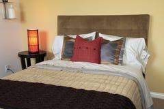 Luxury home bedroom. Royalty Free Stock Photo