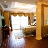 Luxury home bedroom Royalty Free Stock Image