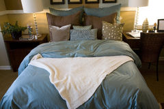 Luxury home bedroom Royalty Free Stock Photography