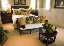 Luxury home bedroom. Stock Photography