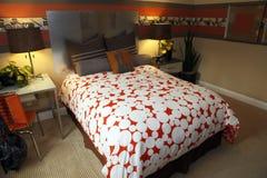 Luxury home bedroom decor Royalty Free Stock Photography
