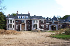 Luxury Home Construction Royalty Free Stock Image