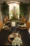 Luxury home dining room. Stock Photos